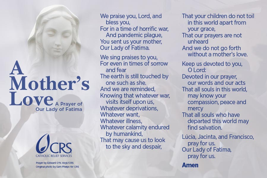 Catholic Prayer for Mothers: A Mother's Love