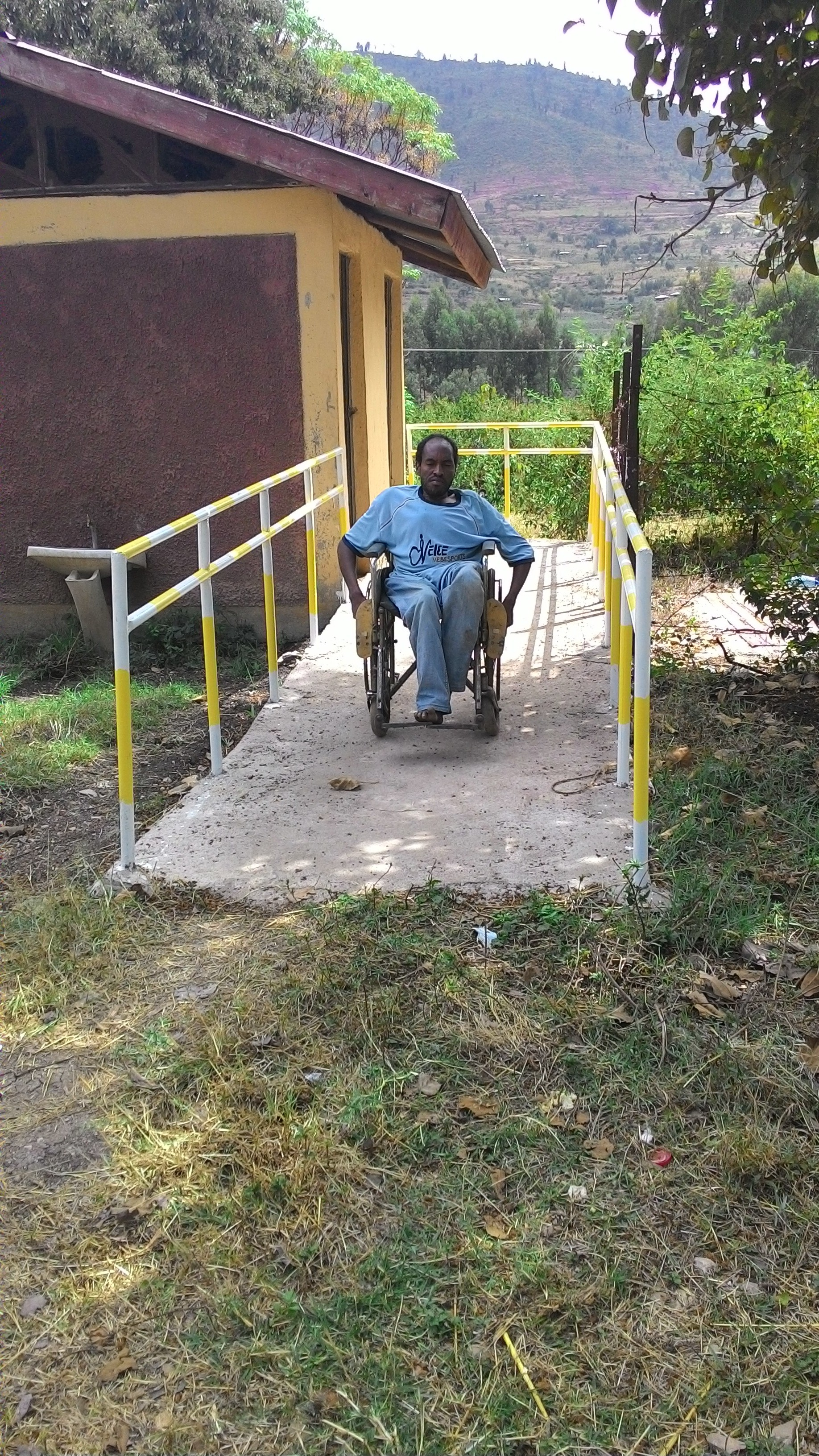 REAAP has improved accessed to government offices for people with disabilities. Photo by Seble Daniel for CRS