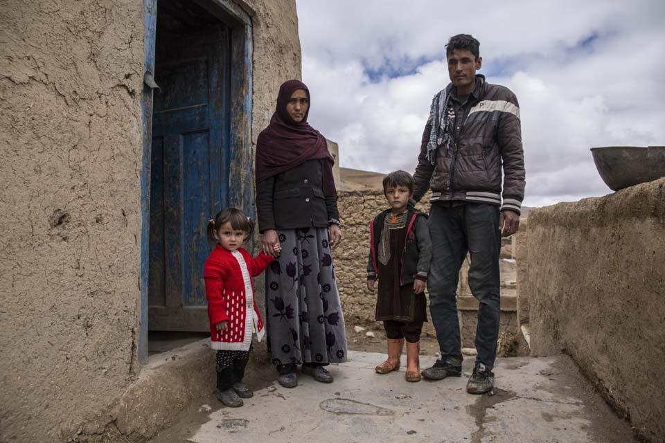 Afghanistan farm family