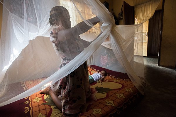 bed net malaria protection