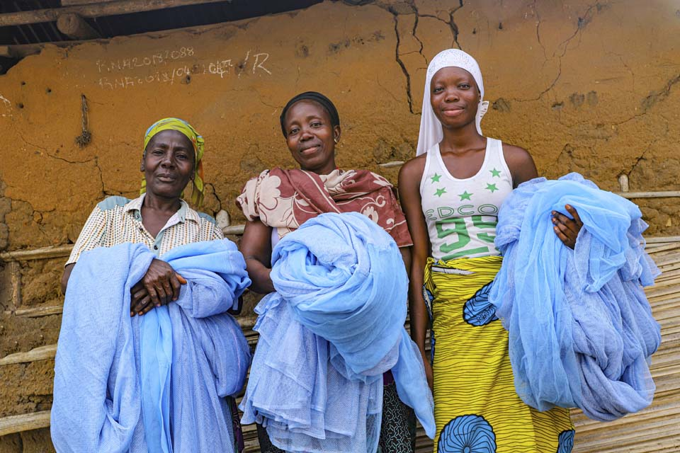 Benin mosquito nets