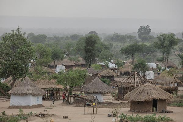 bidi bidi refugee camp in Uganda