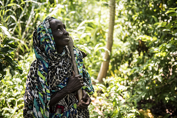Bay Hassane is from Kaya village, a community hosting people who fled Boko Haram. Photo by Michael Stulman/CRS