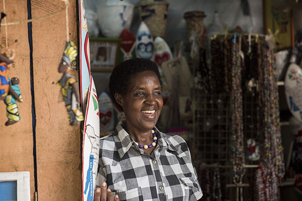 business woman in Burundi