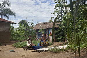 caregiver training in the Democratic Republic of Congo
