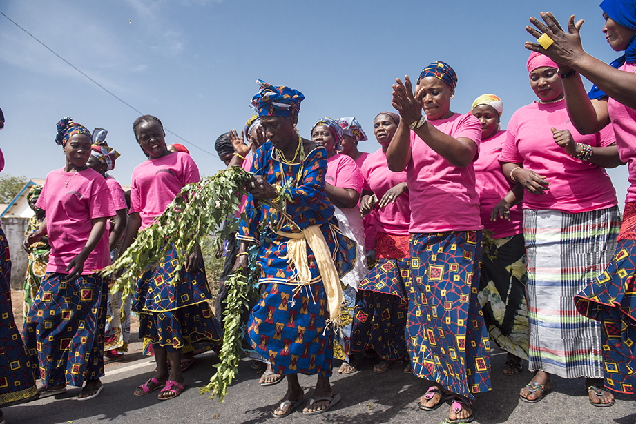 celebration in the gambia
