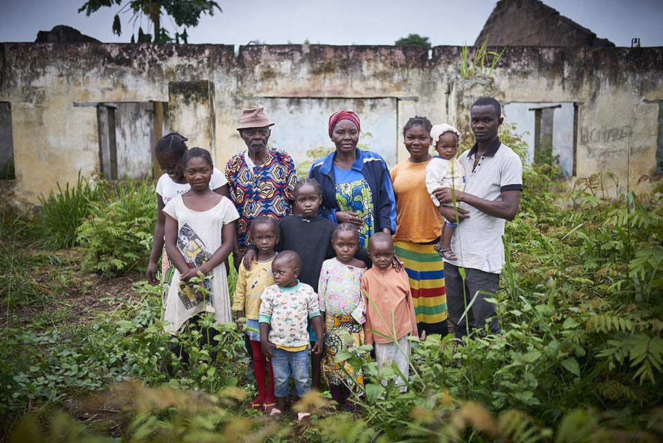 family in Central African Republic