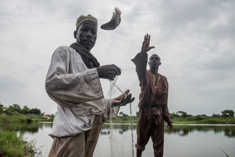 fishermen in Chad