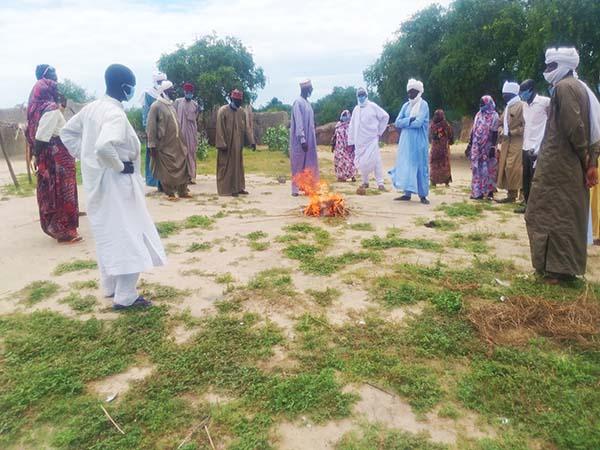 peacebuilding training in Chad