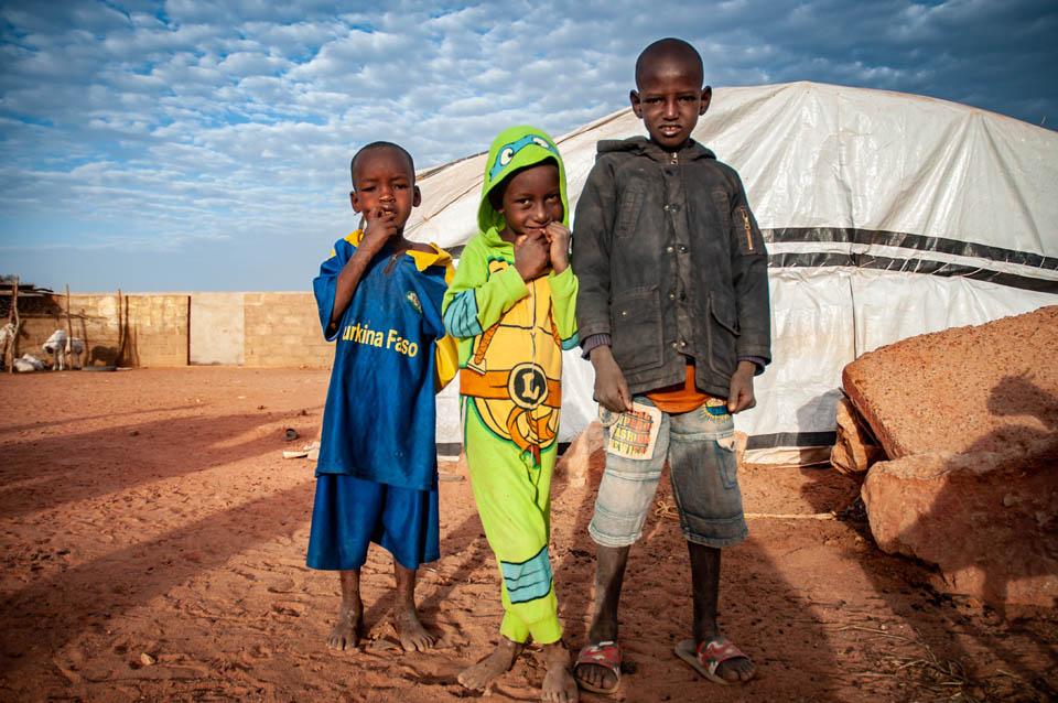 children in Mali