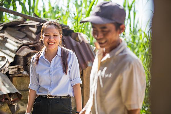 community worker in Vietnam