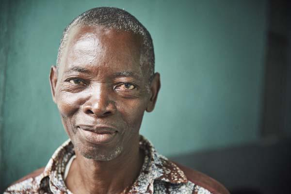 caseworker in DR Congo