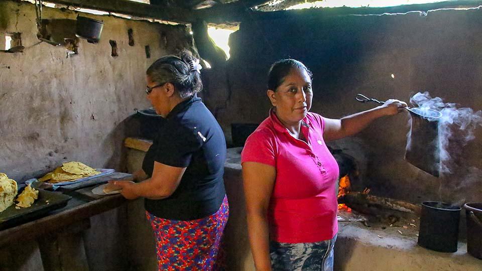 cooking in Nicaragua