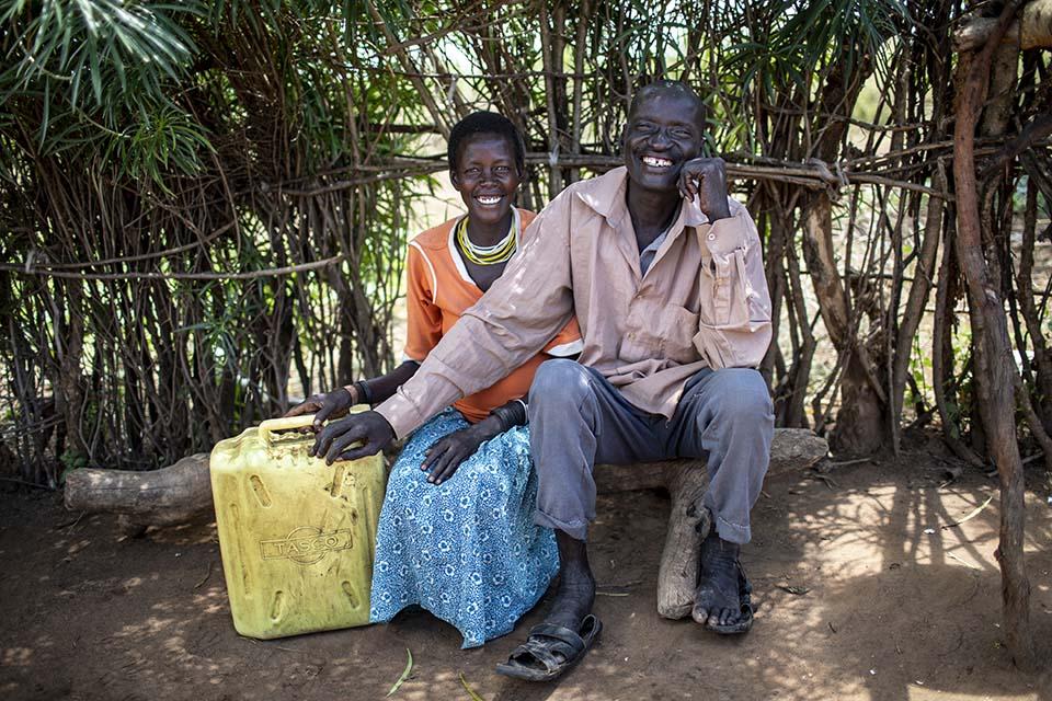 couple in Uganda