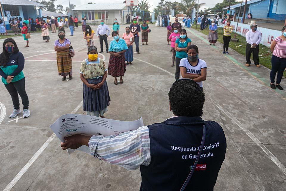 covid prevention in Guatemala