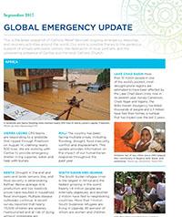 Earthquake and hurricane response