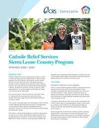 CRS Sierra Leone country program