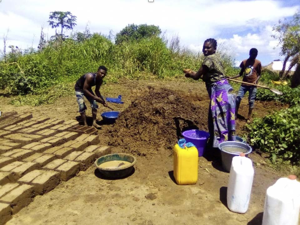 brick making in DRC
