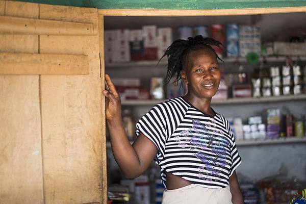 ebola survivor turned entrepreneur in Sierra Leone