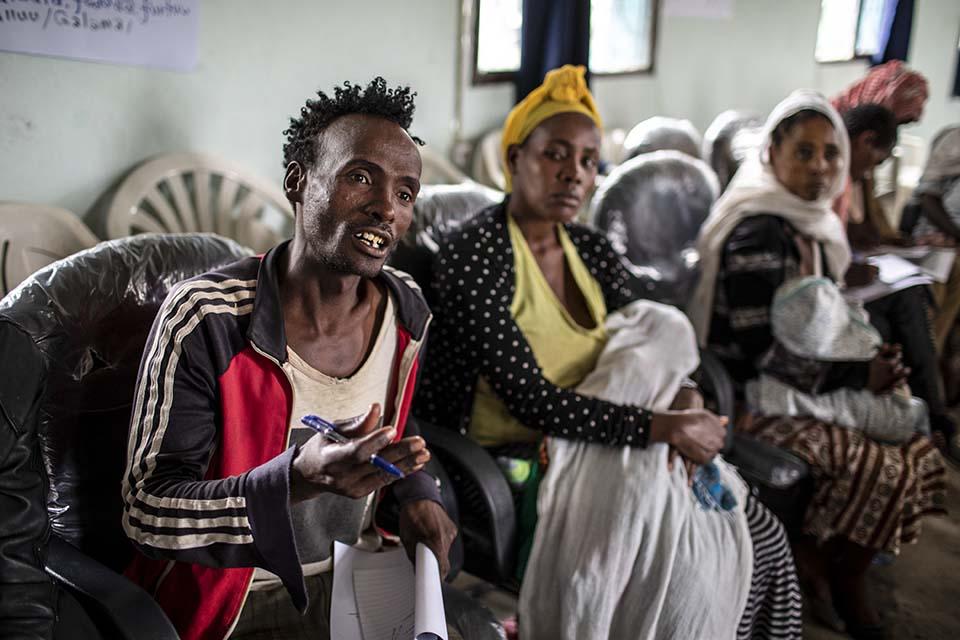 Ethiopia faithful house session