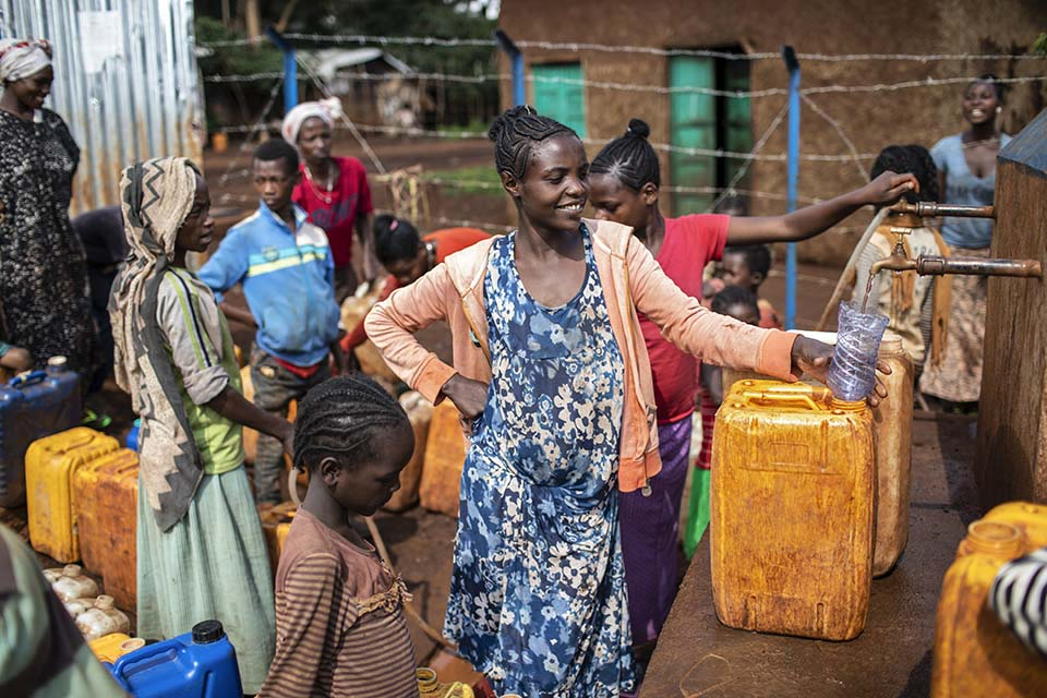 Ethiopia water point