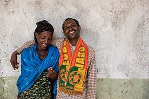 Ethipian couple