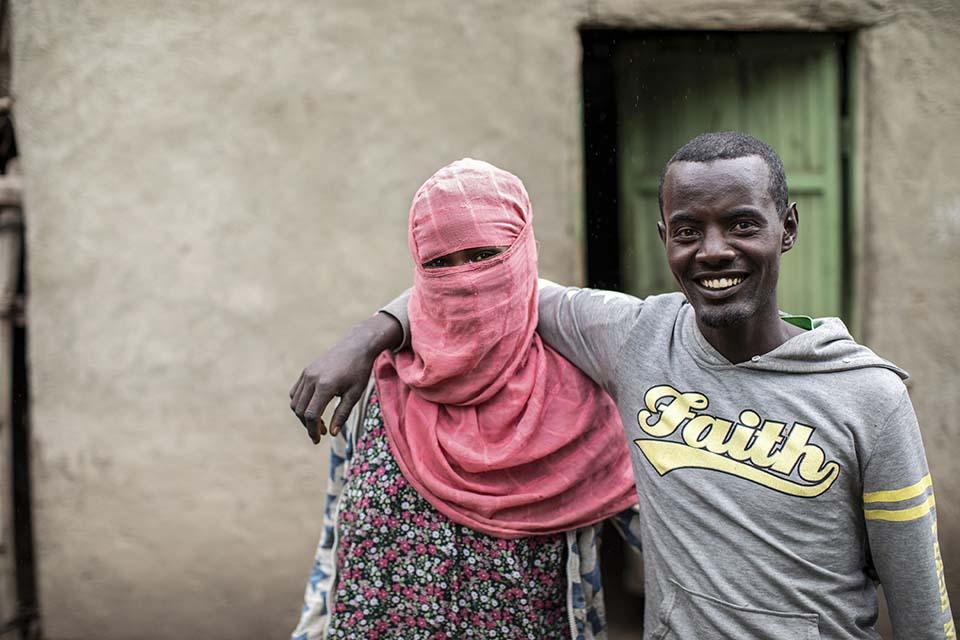 Ethiopian couple