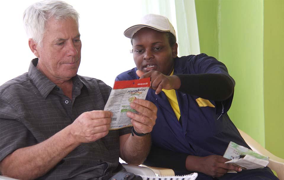 farmer to farmer host and volunteer