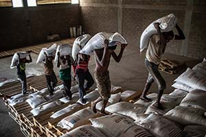 food supplies in Ethiopia