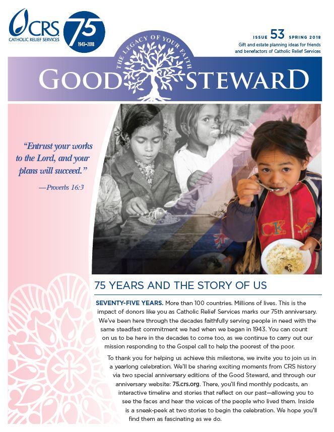 Good Steward  Issue 53 - Spring 2018