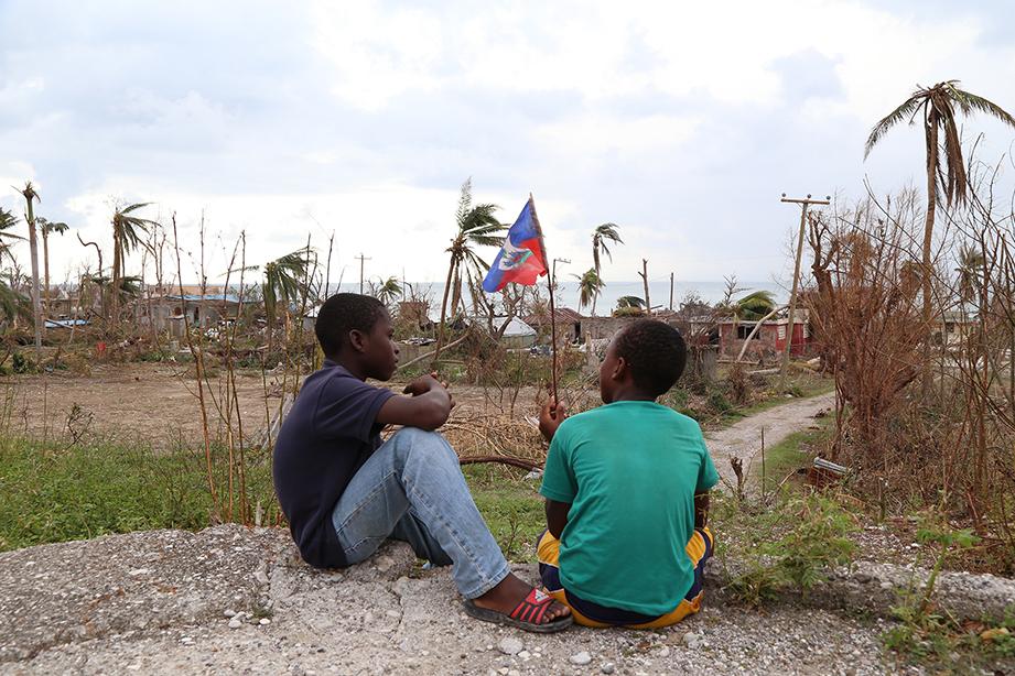 Haiti after hurricane matthew
