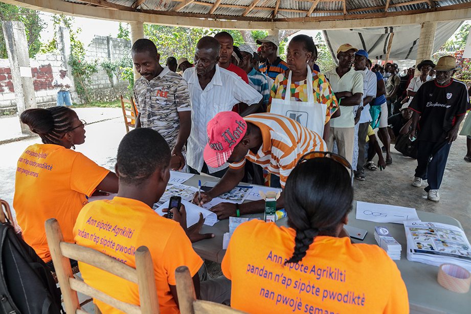 Relief after Haiti hurricane matthew