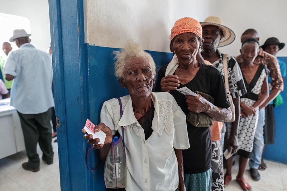 Haiti hurricane matthew survivors