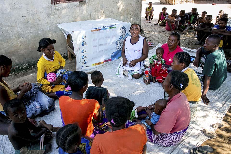 health presentation in Madagascar