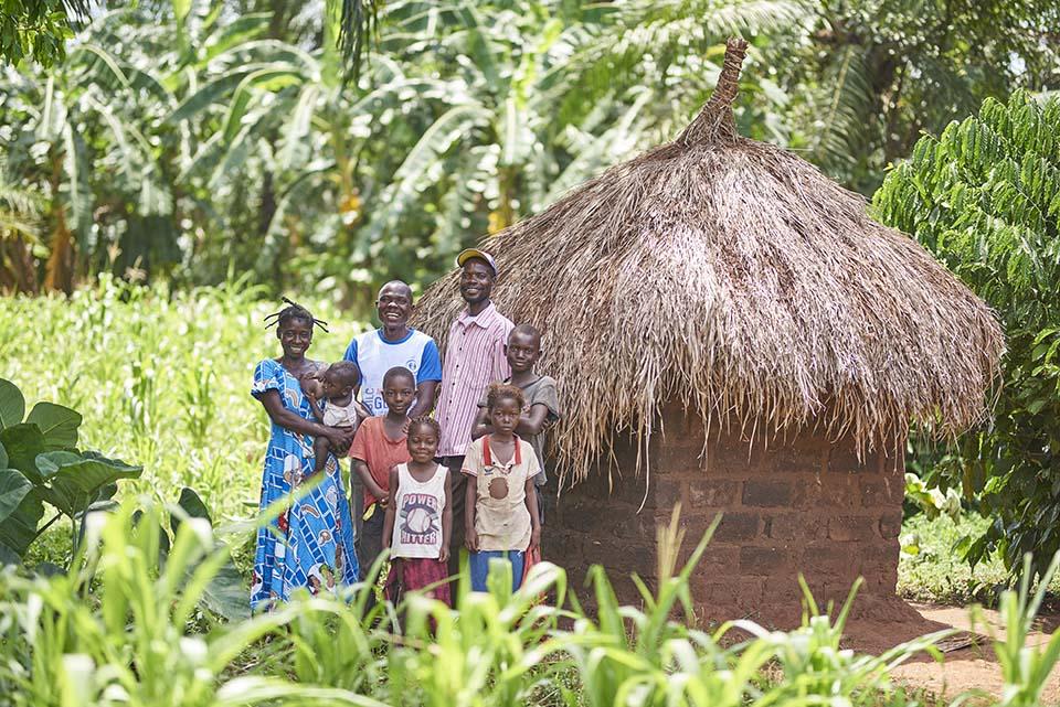 hygenic latrine in DR Congo