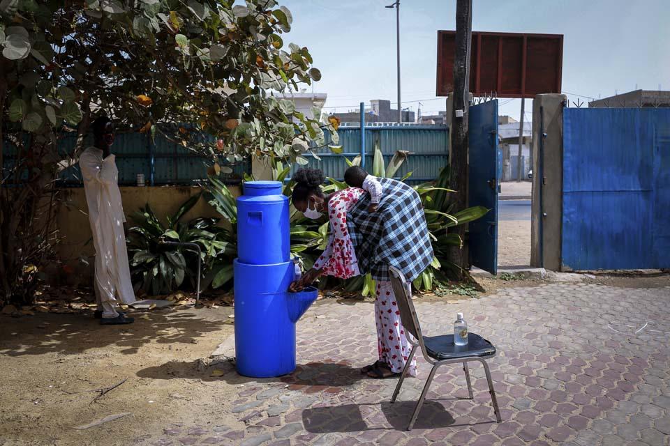 hand washing in Senegal