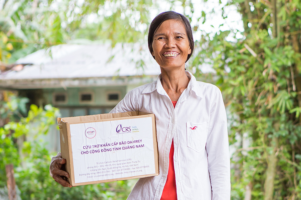 hygiene kit recipient in Vietnam