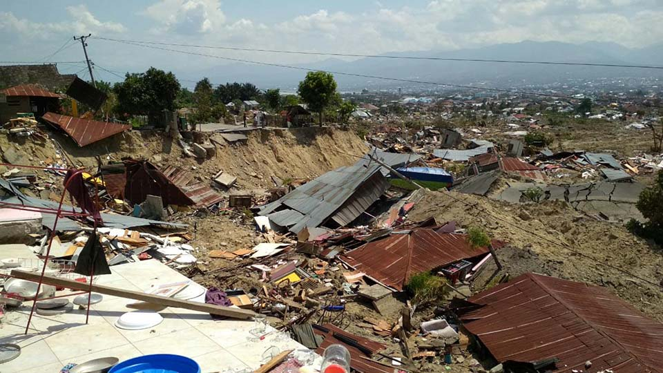 Indonesia quake damage