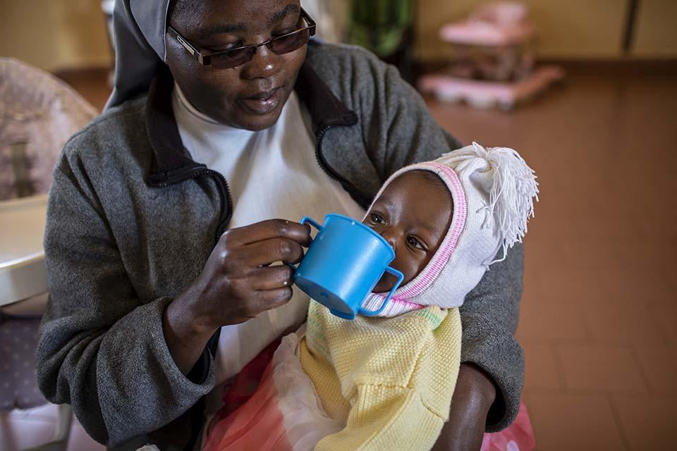 infant care in Kenya