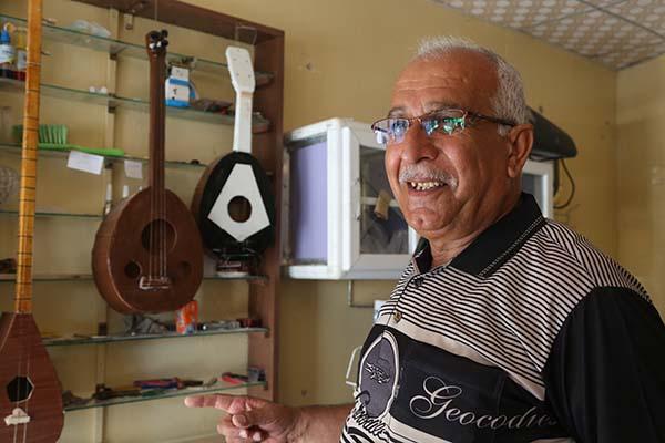 Iraq music store
