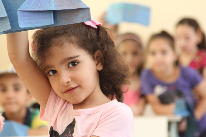 Thanks to private support, CRS and our partners are working throughout the Middle East to provide classes, safe play spaces and trauma counseling to children displaced by violence in Syria, Iraq and other countries.