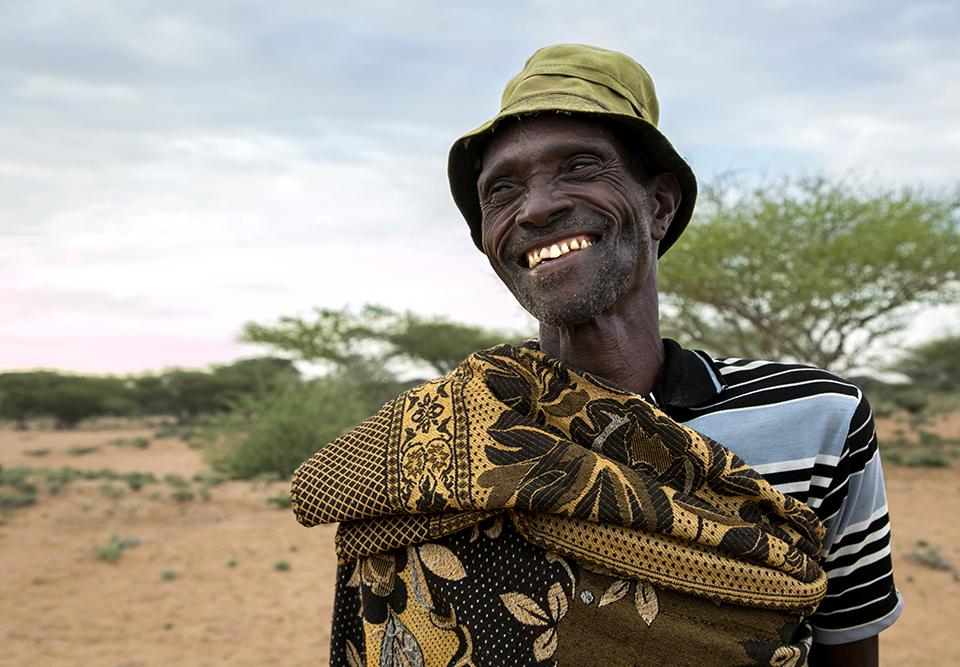 Kenya goatherder