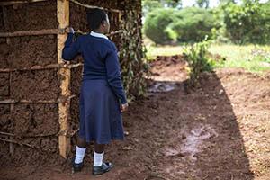 Kenyan teen