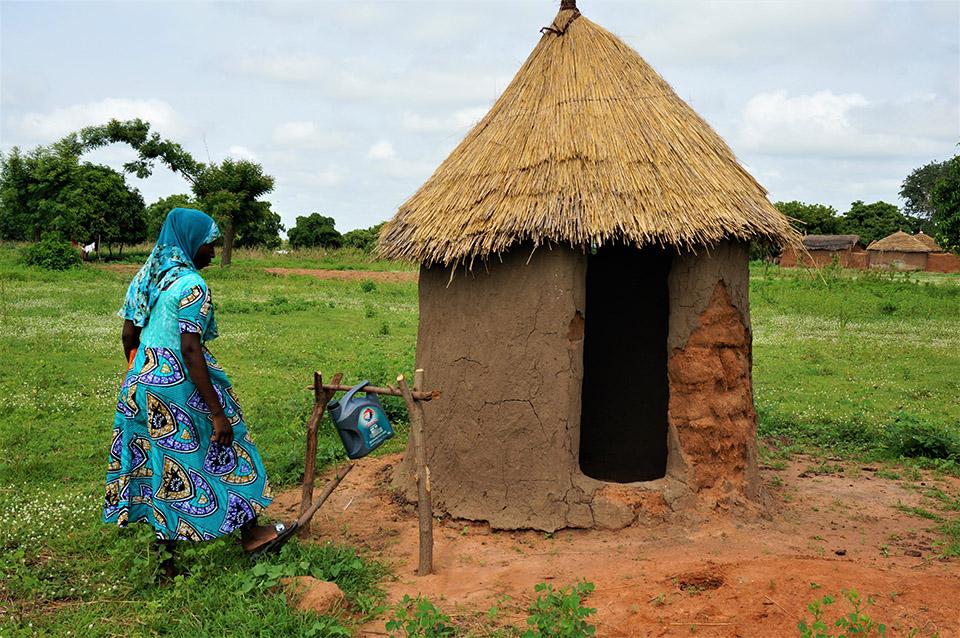 latrine in Togo