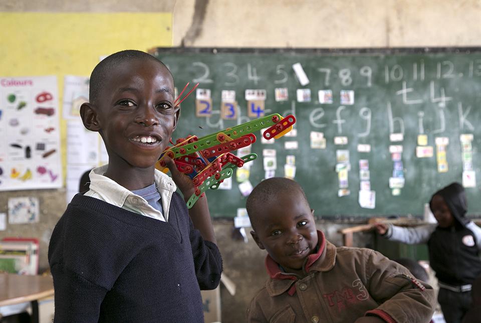 Lesotho students