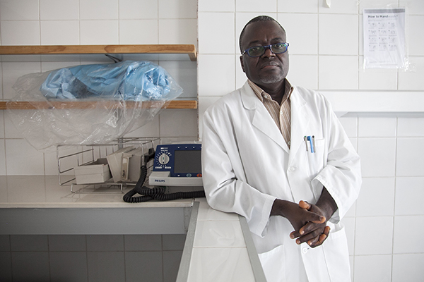 Liberia doctor improving health care system