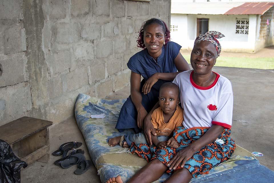 Liberian family