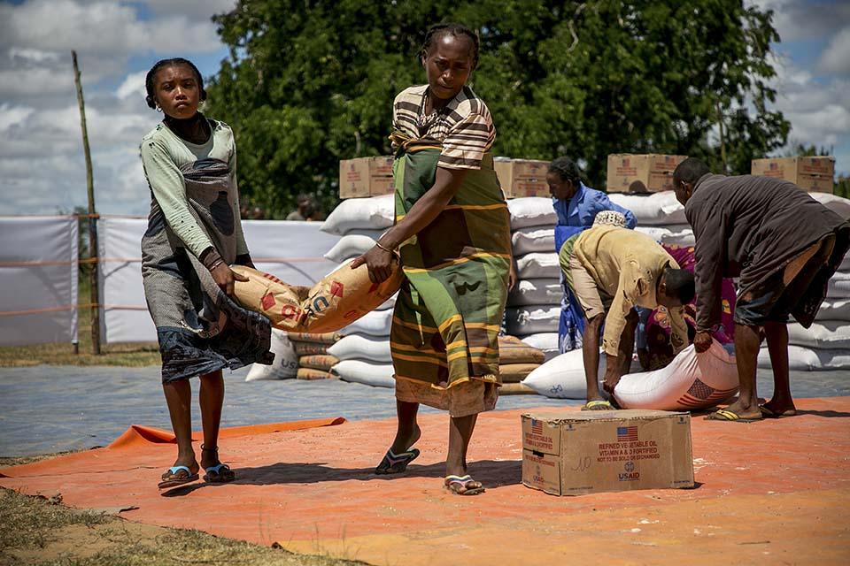 Madagascar food distribution