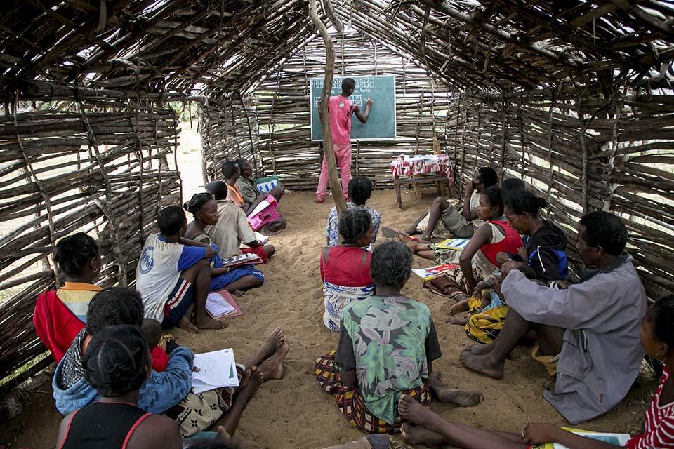 Madagascar literary class