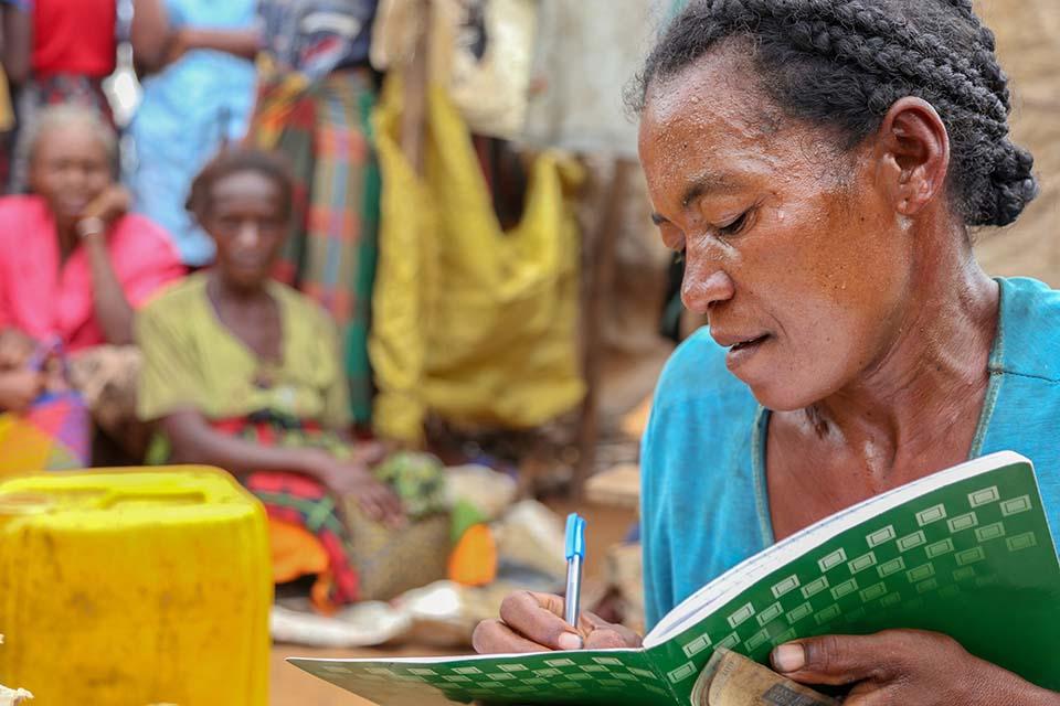 adult literacy in Madagascar